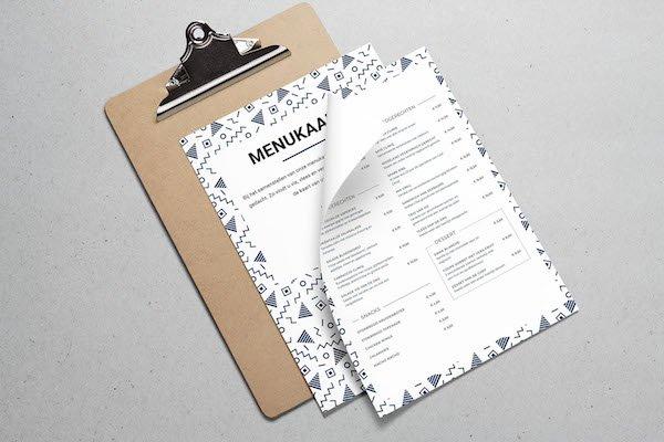 Voorkeur Eenvoudig online een menukaart maken | Online Menukaart #HC63