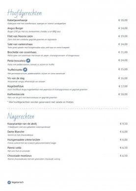 Online Menukaart thema - Gastro